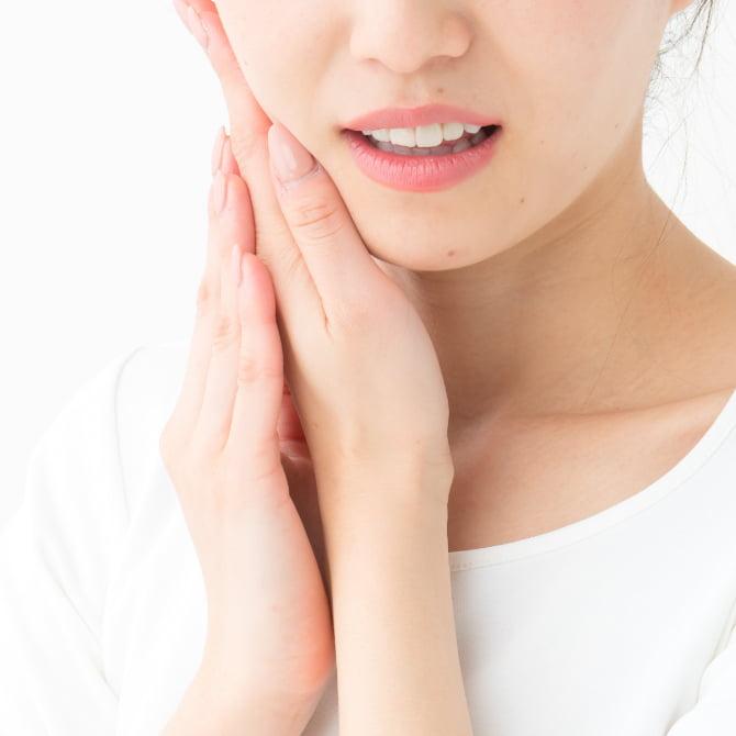 歯茎が腫れた·歯が痛い歯がしみる·歯が欠けた